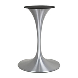 metal table base, tulip table base
